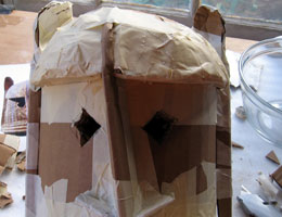 Dogon Mask, Step 12