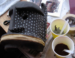 Dogon Mask, Step 19