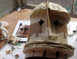 Dogon Mask, Step 9