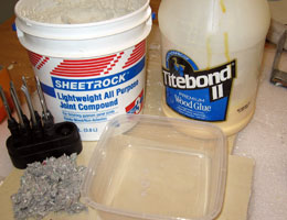 DIY Instant Paper Mache Ingredients