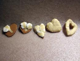 Paper Mache Hearts, Step 2