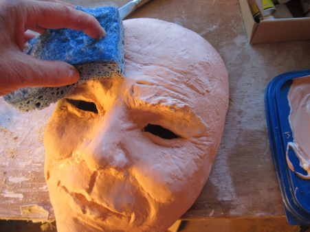 Smoothing the Joker Mask with a Damp Sponge