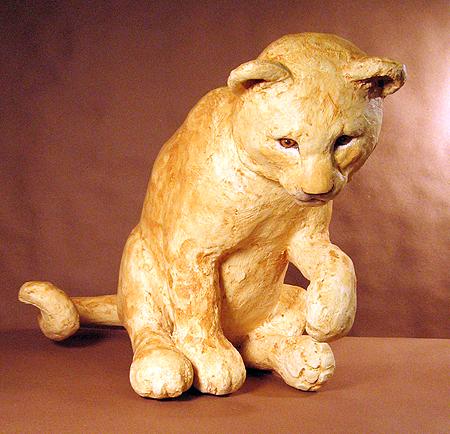 Lion Cub, Sitting