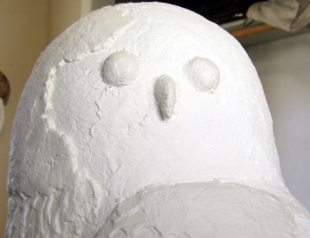 Snowy Owl Eyes, Step 1