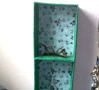Paper Mache CD Shelves