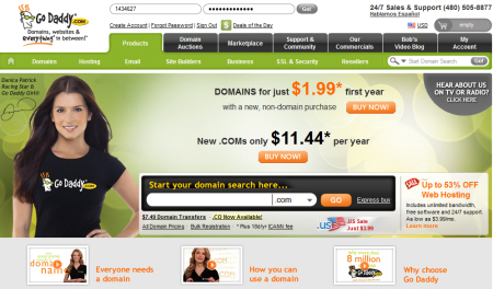 Domain Name from GoDaddy.com