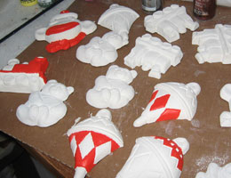 Paper Mache Ornaments, Step 13