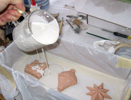 Paper Mache Ornaments, Step 4