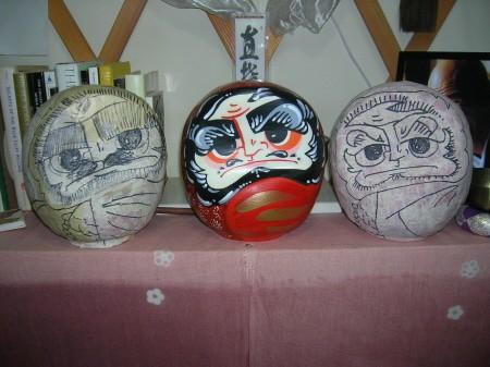 Paper Mache Daruma Doll