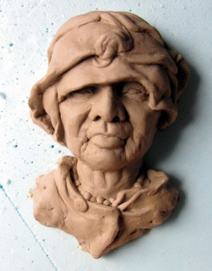 Small Portrait Sculpture #1