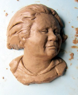 Small Portrait Sculpture #2