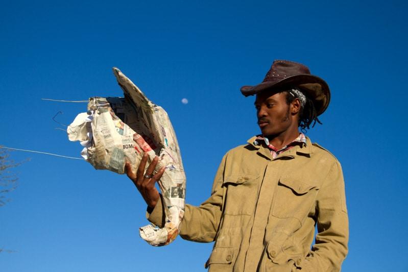 Kabo Chingapane, Paper Mache Artist from Botswana